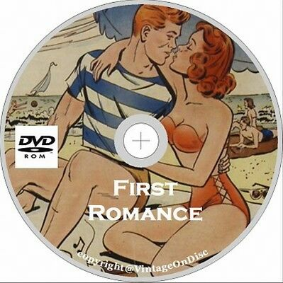 First Romance Magazine Issues 1-52 ON Dvd