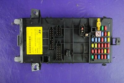 03 08 Hyundai Tiburon Fuse Box Junction Bcm Body Control Module 95490 2c310 Oem
