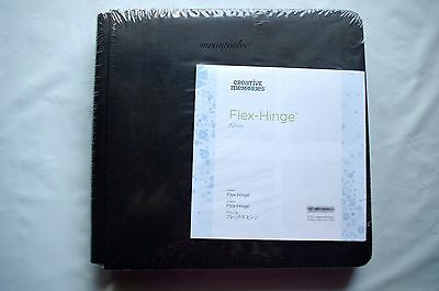 Creative Memories Black 8x8 Flex hinge Album / Coverset BNIP