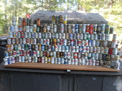 Qty = [211] 1950`s`-80`s Vintage Beer Can Collection -[Read Description / Ship]-