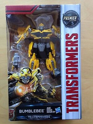 Transformers The Last Knight BUMBLEBEE Figure Premier Edition Deluxe Class