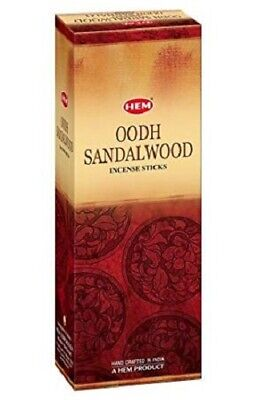 Bulk Buy 120 x HEM Incense Sticks Relaxation Fragrance - Oodh Sandalwood
