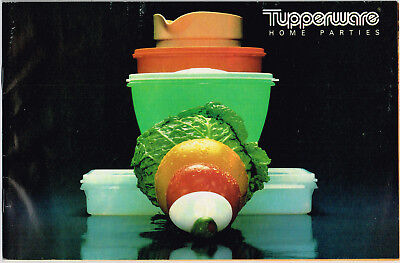 Vintage 1978 TUPPERWARE CATALOG Home Parties, 40 Pages