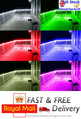 LED Remote Strip Light Sets 9v Battery Powered For Porch Walkway Decking