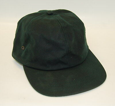 Adults Unisex Plain Oilskin 6-panel Cap