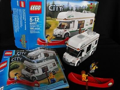 Lego City Emergency Ambulance 7890 100 Complete With