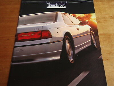 1992 92 Ford Thunderbird Car BROCHURE ORIGINAL Dealership Ad Catalog Auto