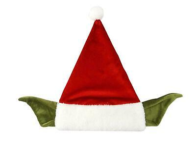 Hat Star Wars 7 the Force Awakens Plush Yoda Santa Claus Father Christmas