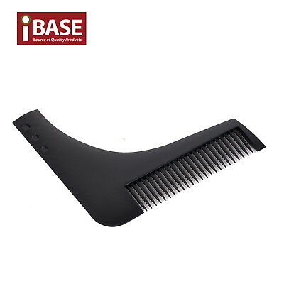Beard Shaping Template Comb Styling Barber Tool Symmetry Trimming Shaper Black