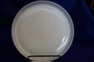 CRATE AND BARREL Aaron Probyn 4 (four) Dinner Plates Set 10 1/2\