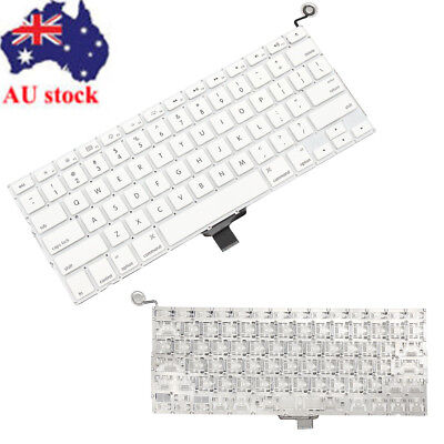 AU Keyboard Replacement For MacBook 13'' A1342 2009 2010 US Keyboard White New