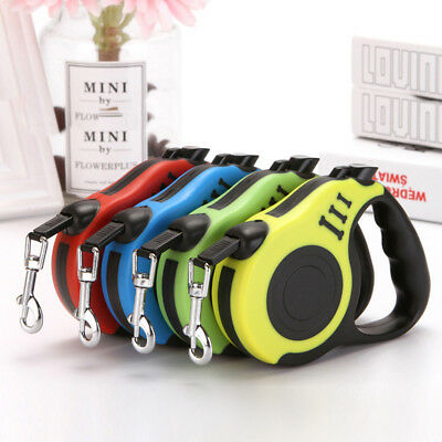 U Shape Pet Dog Cat Puppy Automatic Retractable Traction Rope Walking Lead Leash