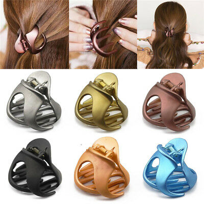 Korean Style Lady Hair Clips Claw Fashion Women Barrette Crab Clamp Hairpin New