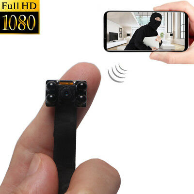 Mini 4K HD Spy Hidden Camera DIY Module Night Vision Video Recorder Wireless Cam