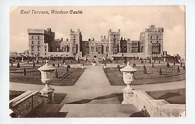 E0486cgt UK East Terrace Windsor Castle Valentines vintage postcard