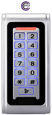 Digital keypad with built in proximity, standalone or Wiegand output - 2000 user