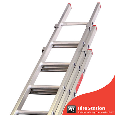 Lyte DIY Triple Extension Ladder 2.2M Closed 5.2M Extended BD325