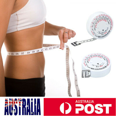 Body Tape Measure - Measuring Fat Weight Loss - Gym Muscle Health Fitness