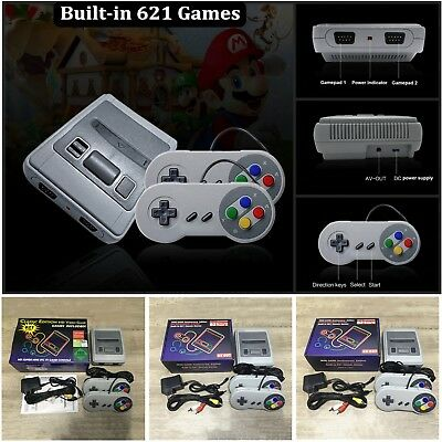 Retro Mini TV HDMI/AV 8 Bit Video Game Console Built-in 621 Classic TV Games