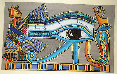 Cross Stitch Ancient Egypt Powerful Sacred Symbol The Eye of Horus Wadjet Ujat