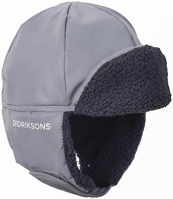 Didriksons Biggles Reflective Kids Fleece Lined Hat