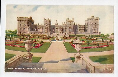 D7324cgt UK Windsor Castle East Terrace Artist vintage postcard