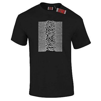 Joy Division Unknown Pleasures Ian Curtis Front and Back Print PREMIUM T-Shirt