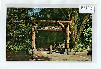 B7112cgt USA California Gateway to Muir Woods National Monument Gray Linpostcard