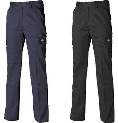 Dickies Redhawk Chino Cargo Combat Trousers Black or Navy Mens Workwear WD803