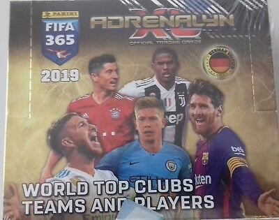 Panini Adrenalyn XL FIFA 365 2019 1 x Display - 24 Booster