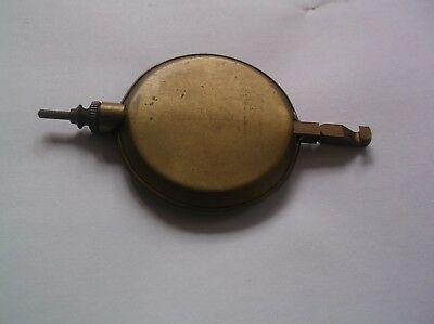 A PENDULUM FROM AN OLD ENGLISH 4X4 CHIME MANTEL CLOCK  119g REF VIC 1