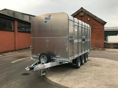 CANCELLED ORDER Ifor Williams Livestock DP120-12 Tri Axle Trailer - 3500kg