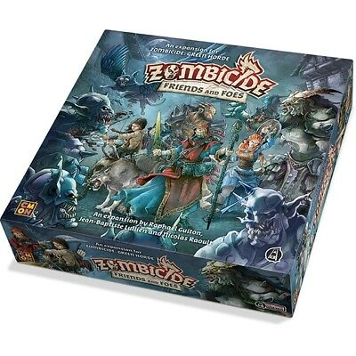 Zombicide Black Plague Green Horde Friends and Foes - CMON - New Board Game