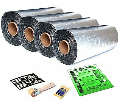 GTMAT Ultra 80mil 40sqft Auto Sound Deadener MAT w/ DYNAMAT Xtreme Sample