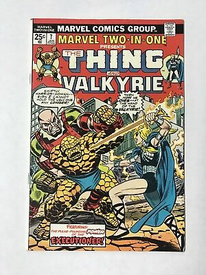 Marvel Two-in-One #7 1974 F/VF VF- 7.0-7.5 Sal Buscema Thing App. Valkyrie HOT!