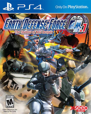 Earth Defense Force 4.1: The Shadow of New Despair (Sony PlayStation 4, 2015)