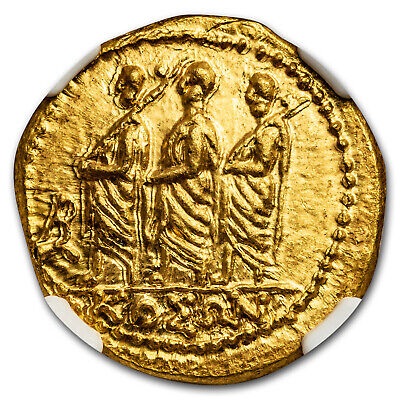 Thracian/Scythian Gold Stater Coson (1st Century BC) Ch MS* NGC - SKU#173246