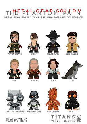 Metal Gear Solid V 5 The Phantom Pain Trading Figure 8 Cm Collection Titanen Mgs