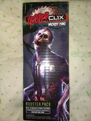 ONE 2006 HORRORCLIX  Base Set Booster Box SEALED