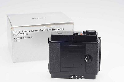 Mamiya RB67 Power Drive Roll Film Holder II 120/220 6X7                     #802