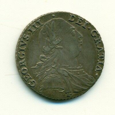 Great Britain George III Shilling 1787 AEF