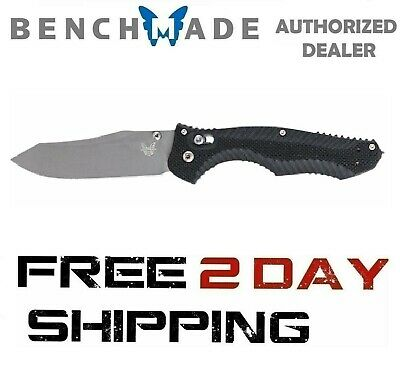 Benchmade Contego 810 Knife Reverse Tanto Plain Edge Satin Finish AXIS Lock