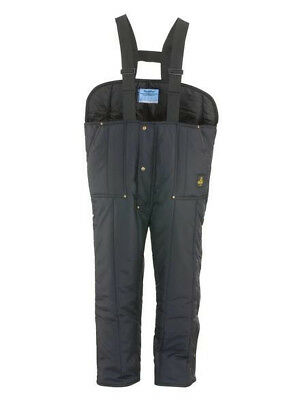 RefrigiWear Insulated Softshell  Overalls - Size X large
