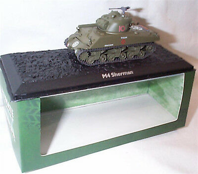 Ultimate Tank Collection M4 Sherman 1-72 scale new in Case/boxed