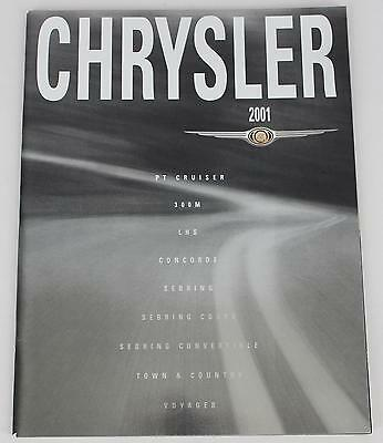 Chrysler 2001 Sales Brochure / Literature