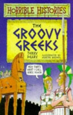 The Groovy Greeks (Horrible Histories) by Terry Deary Paperback Book The Cheap