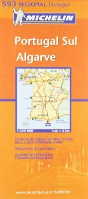 Portugal South (Michelin Regional Maps) by VARIOUS Sheet map, folded Book The