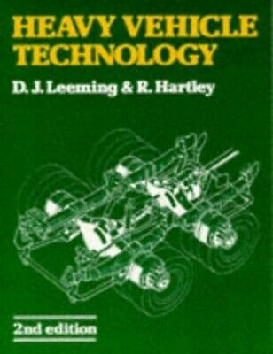 Heavy Vehicle Technology by Hartley, R. Paperback Book The Cheap Fast Free Post