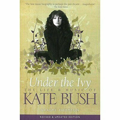 Under The Ivy - The Life And Music Of Kate Bush Book The Cheap Fast Free Post