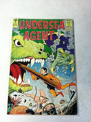Undersea Agent #6 Sea Stalag, Kane, Wood, 1967, Doomsday In The Depths